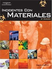 Cover of: Hazardous Materials Incidents | Christopher David Hawley