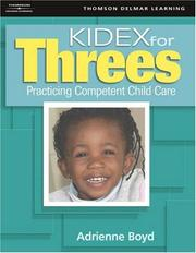 Cover of: KIDEX For Three's