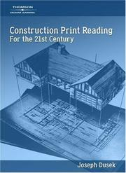 Cover of: Construction Print Reading for the 21st Century