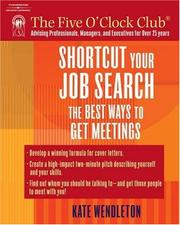 Cover of: Shortcut Your Job Search | Kate Wendleton