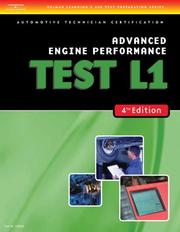 Cover of: ASE Test Preparation- L1 Advanced Engine Performance