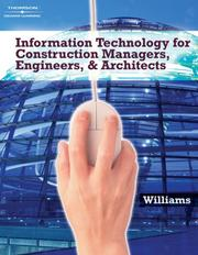 Cover of: Information Technologies for Construction Managers, Architects and Engineers