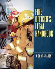 Cover of: Fire Officer's Legal Handbook