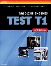 Cover of: ASE Test Preparation Medium/Heavy Duty Truck Series Test T1