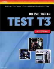 Cover of: ASE Test Preparation Medium/Heavy Duty Truck Series Test T3