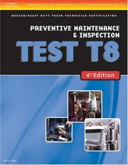 Cover of: ASE Test Preparation Medium/Heavy Duty Truck Series Test T8 | Thomson Delmar Learning