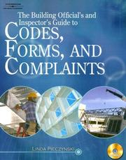 Cover of: The Building Official's and Inspector's Guide to Codes, Forms, and Complaints