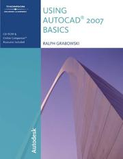 Cover of: Using AutoCAD 2007 Basics