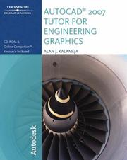 Cover of: Autocad 2007 Tutor for Engineering Graphics | Alan J. Kalameja