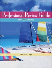 Professional Review Guide for the CCA Examination, 2007 Edition (Professional Review Guide for the Cca Examination) by Patricia Schnering, Calee Leversee, Toni Cade, Carole Venable, Anita Hazelwood
