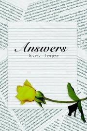 Cover of: Answers