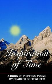 Cover of: Inspiration of Time