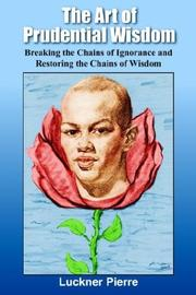Cover of: The Art of Prudential Wisdom