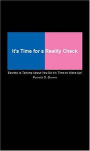 Cover of: It's Time for a Reality Check