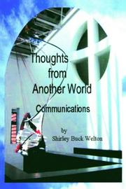 Cover of: Thoughts From Another World