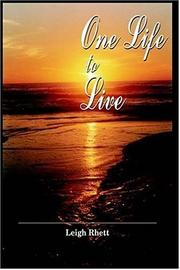 Cover of: One Life to Live