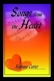 Cover of: Songs from the Heart | Barbara Carter
