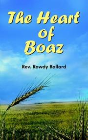 Cover of: The Heart of Boaz