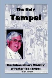Cover of: The Holy Tempel
