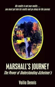Cover of: Marshall's Journey