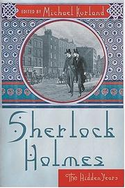 Cover of: Sherlock Holmes: The Hidden Years