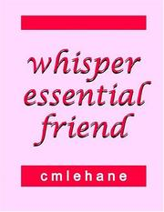 Cover of: Whisper Essential Friend