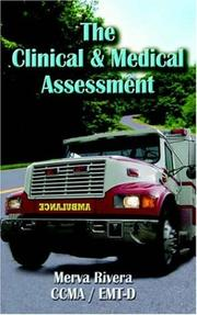Cover of: The Clinical & Medical Assessment