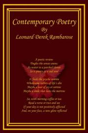 Cover of: Contemporary Poetry