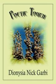 Cover of: Poetic Touch