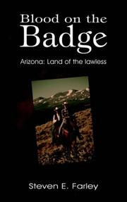 Cover of: Blood on the Badge: Arizona | Steven E. Farley