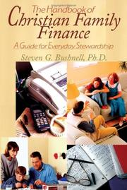 Cover of: The Handbook Of Christian Family Finance