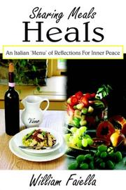 Cover of: Sharing Meals Heals