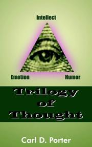 Cover of: Trilogy of Thought