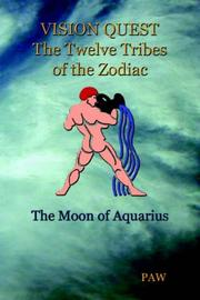 Cover of: VISION QUEST The Twelve Tribes of The Zodiac