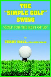 "Cover of: THE ""SIMPLE GOLF"" SWING"