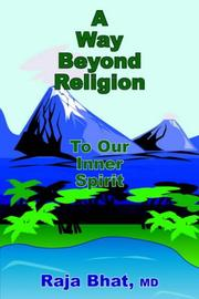 Cover of: A Way Beyond Religion