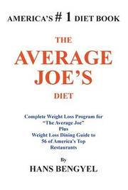 Cover of: THE AVERAGE JOE