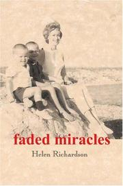 Cover of: faded miracles
