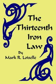 Cover of: The Thirteenth Iron Law