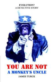 Cover of: You Are Not a Monkey's Uncle
