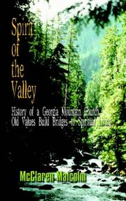 Cover of: Spirit Of The Valley