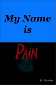 Cover of: My Name Is Pain