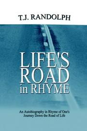 Cover of: LIFE'S ROAD IN RHYME