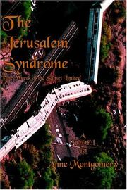 Cover of: The Jerusalem Syndrome