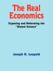 Cover of: The Real Economics