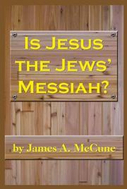 Cover of: Is Jesus the Jews' Messiah?