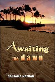 Cover of: Awaiting the dawn