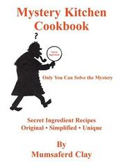 Cover of: Mystery Kitchen Cookbook