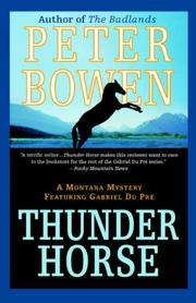 Cover of: Thunder Horse