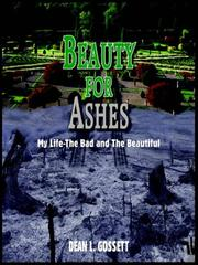 Cover of: BEAUTY FOR ASHES